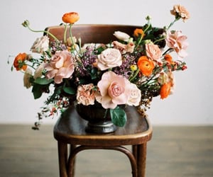 bouquet, flowers, and home image