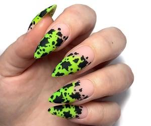 claws, nail art, and gel nails image