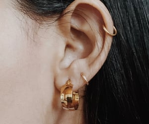 accesories, ear, and earrings image