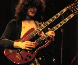 70s, jimmy page, and led zeppelin image