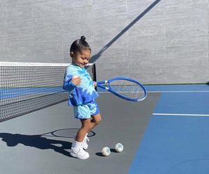 blue, kids, and tennis image