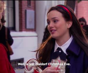 blair waldorf, christmas, and gossip girl image