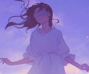 blindfold, fantasy, and girl image