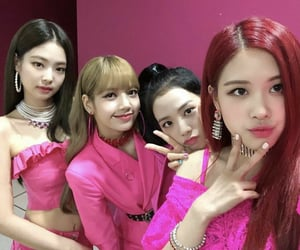 kpop, lisa, and pink image