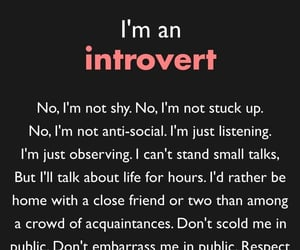 antisocial, shy, and introvert image