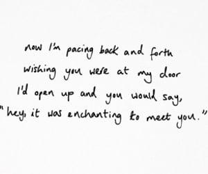 13, enchanted, and Lyrics image