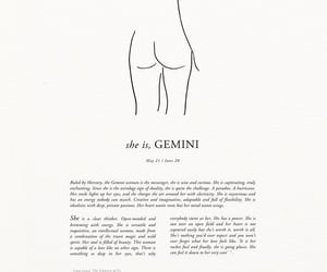 gemini, horoscope, and zodiac image