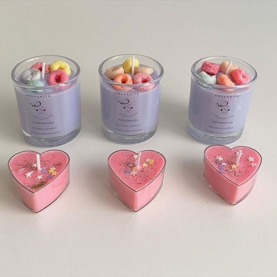 candle, aesthetic, and cute image
