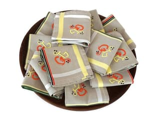 etsy, linen napkins, and embroidered napkins image