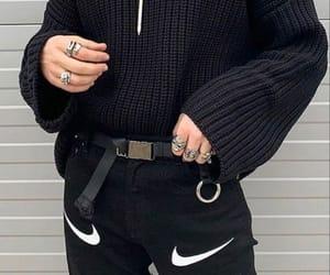 edgy, fashion, and grunge image