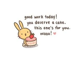cute, cake, and quotes image