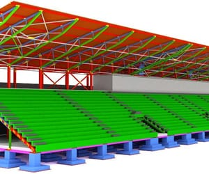 steel detailing services and structural beams design image