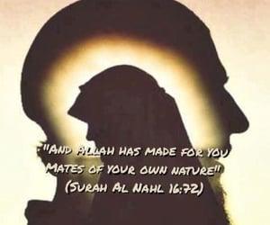 hijab, husband, and motivational quotes image