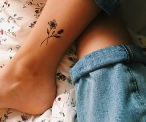 beautiful, tattoo inspo, and flower image