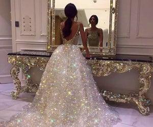 dress, glitter, and amazing image