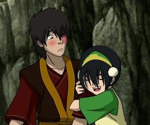 toph, zuko, and cute image