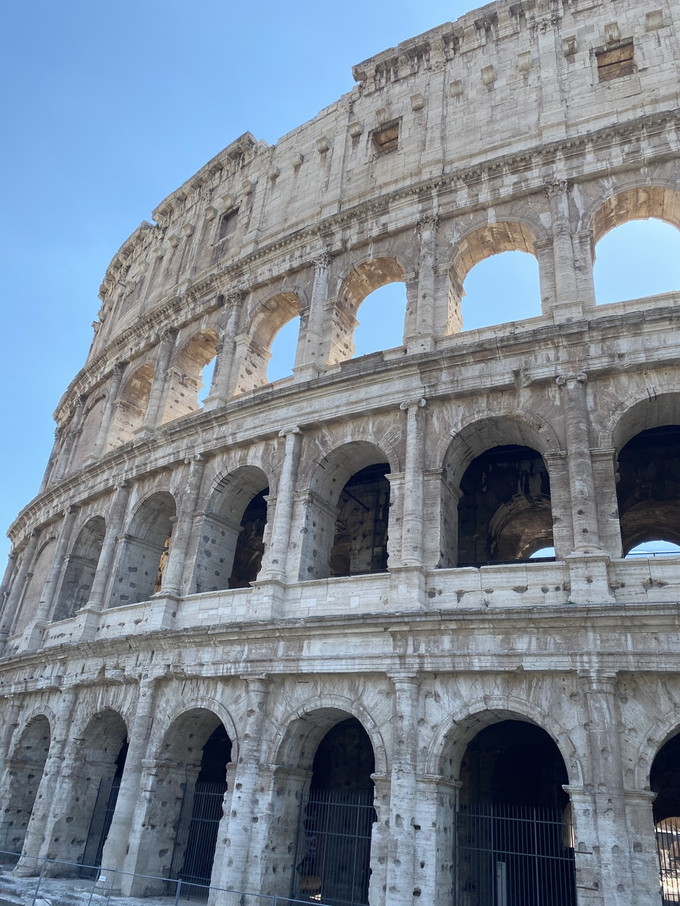 aesthetics, blue, and colosseum image
