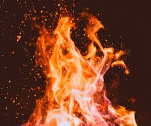 fire and aesthetic image