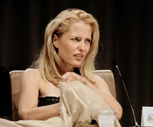 beauty, blonde, and gillian anderson image