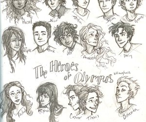 percy jackson, heroes of olympus, and percy image