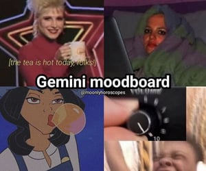 astrology, funny, and gemini image