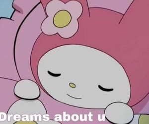 meme, my melody, and pink image
