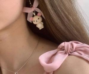 baby, princess, and ribbon image