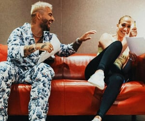 Jennifer Lopez, jlo, and maluma image
