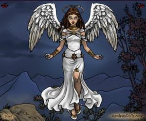 angel, girl, and original character image
