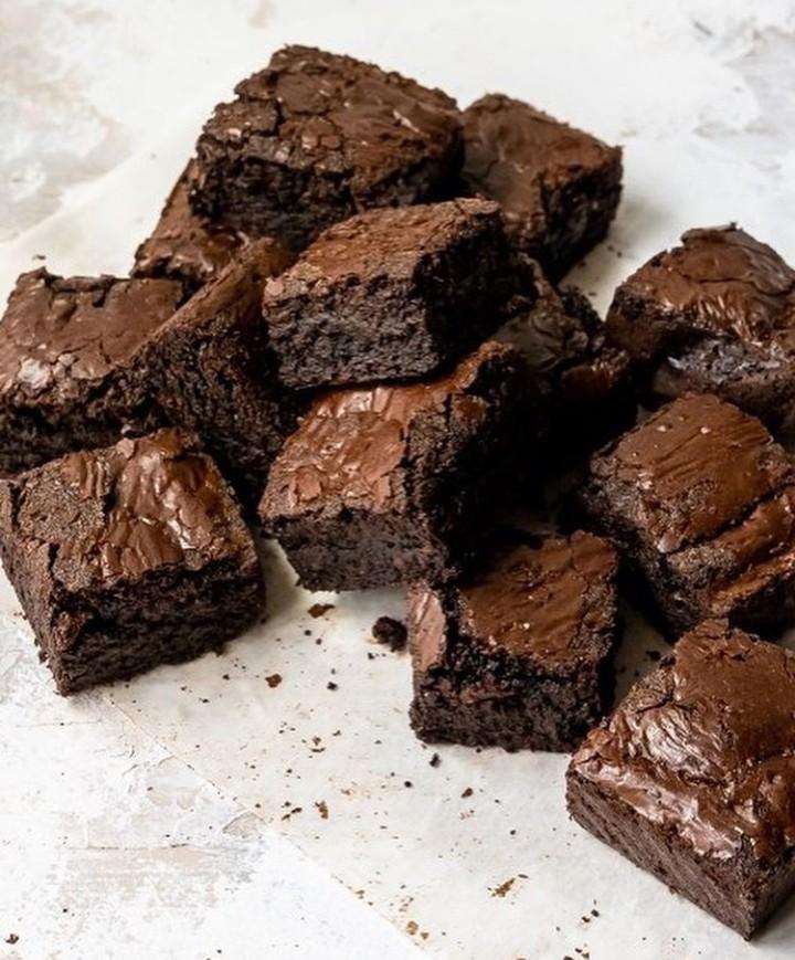 brownie, brownies, and chocolate image