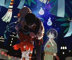 anime, hug, and japanese image