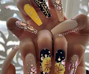 fashion, nails, and nailart image