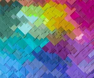colors, rainbow, and background image