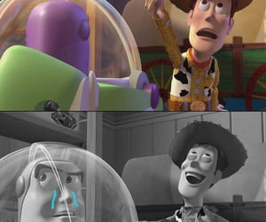 buzz lightyear, humor, and lol image