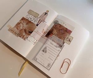 beige, brown, and journal image