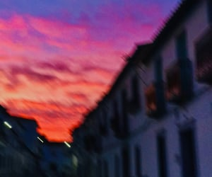 cielo, sky, and calle image