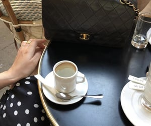 aesthetic, cafe, and chanel image