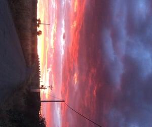 camino, rural, and puesta de sol image