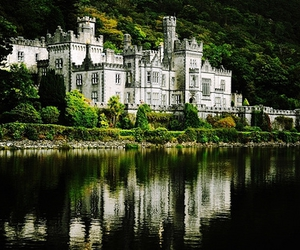 castle, beautiful, and mansion image
