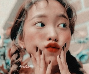aesthetic, kim yerim, and kpop theme image