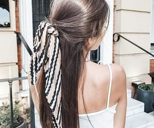hair and scarf image