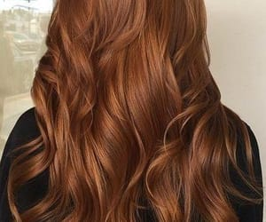 aesthetic, brown, and brown hair image