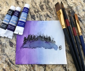 art, painting, and paints image