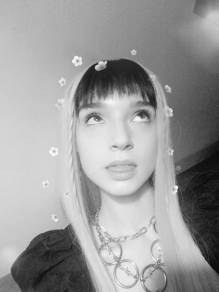 bangs, cute, and thatpoppy image