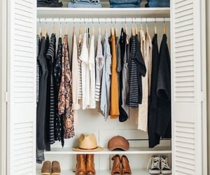 closet, article, and clothes image