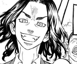 anime, monochrome, and manga panel image