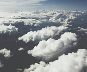 adventure, art, and clouds image