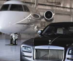 luxurious, plane, and rich image