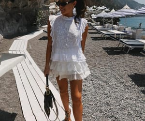beach day, blogger, and dior image