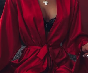 lingerie, red, and sexy image